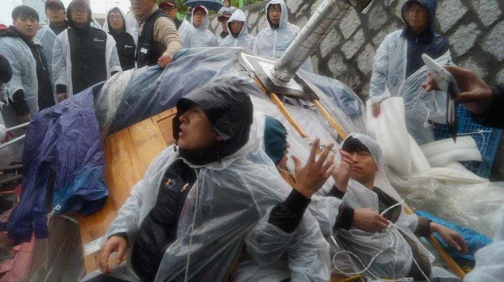 【ニュース民・写真特集】旭硝子(AGC)労働者2015年5月から2021年8月11日まで