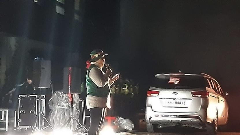トールゲート(料金所)闘争   韓国労総脱退した労働者が決して折れない労働者の大意を語る – インタビュー